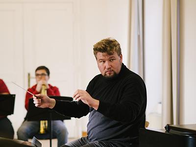 Steffen Wardemann dirigiert